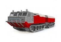 "Вездеход ДТ-8П ""Витязь"" грузоподъемностью 8 тонн"